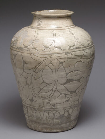 Unknown Artist, 'Large Jar with Decoration of Peonies', Late 15th century