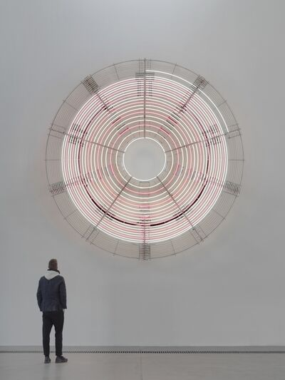 Carsten Höller, 'Decimal Clock (White and Pink)', 2018