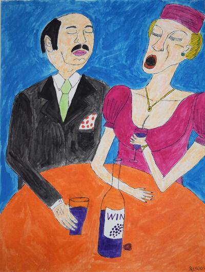 Raymond Lopez, 'Drinking Wine', 2011