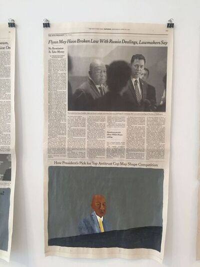 Lubaina Himid, 'This is Not Flynn', 2017