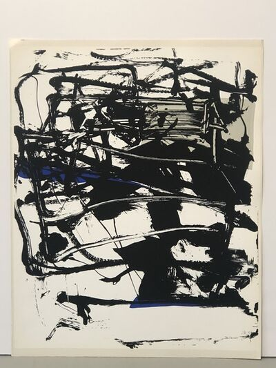 Joan Mitchell, 'Untitled (from Poems)', 1961