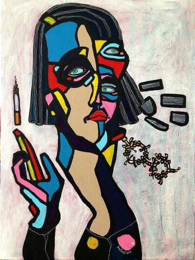 "Anna Tsvell, '""Cigarette Levitation""', 2018"