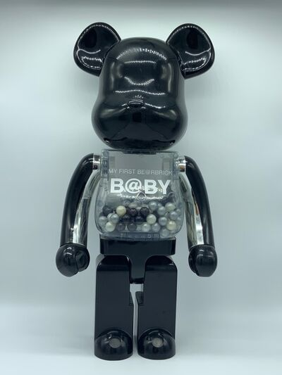 "BE@RBRICK, 'B@by ""My First Be@rbrick"" 1000% (Black and silver)', 2010"