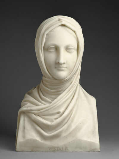 Antonio Canova, 'Herm of a Vestal Virgin', 1821-1822