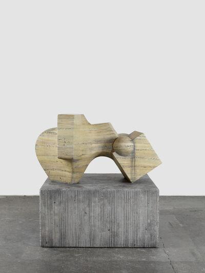 Valentin Carron, 'D`après Tommasini (Travertin)', 2015