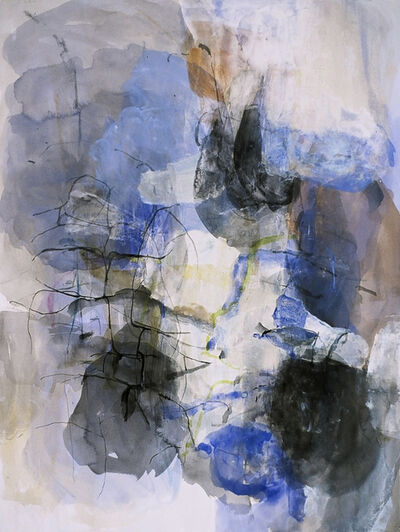 Karl Pilato, 'Untitled Blue Abstract'