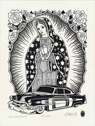 Mike Giant, 'Our Lady Of The Sleds', 2017