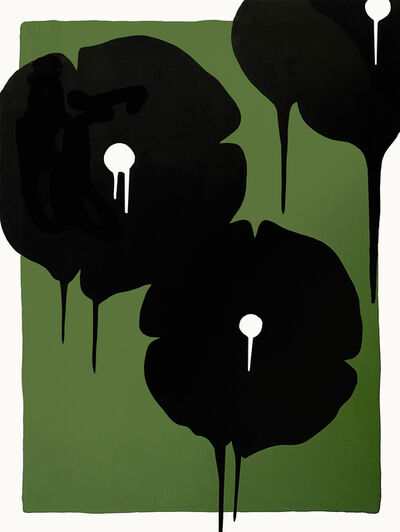 Hamilton Aguiar, 'Three Flowers', 2020
