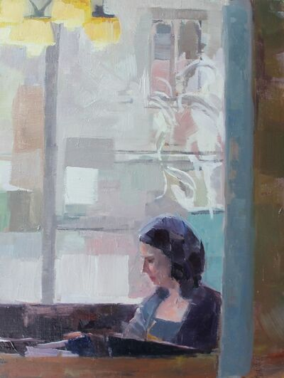 Ceri Allen, 'Interior study'