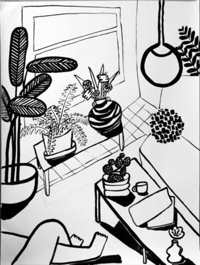 Carissa Potter, 'Living Room', 2020