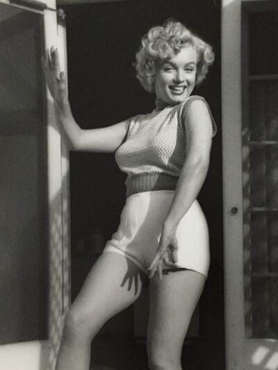 André de Dienes, 'Marilyn Monroe. Bungalow', 1953