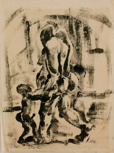 Durant Sihlali, 'Mother and child series', 1966