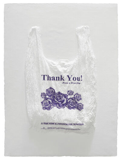 Analía Saban, 'Thank You! Have a Nice Day Plastic Bag', 2016