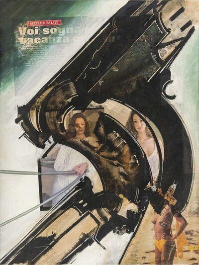Gianni Bertini, 'Artemide e Callisto', 1994