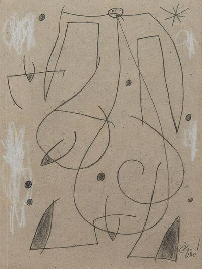 Joan Miró, 'Femme, oiseau, étoile,constellation', 1977