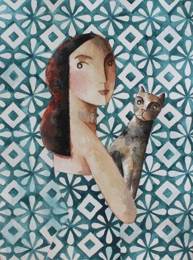 Didier Lourenço, 'Cat', 2017