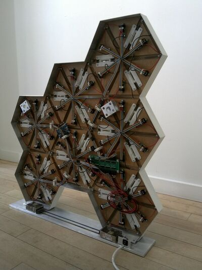 Lab[au], '0rigam1- Rhombus freeform- Back View', 2014