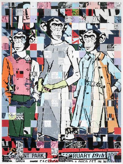 FAILE, 'Fashion Chimps NYC', 2011