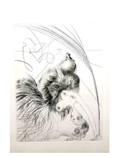 "Salvador Dalí, 'Original Etching ""Venus in Furs VI"" by Salvador Dali', 1968"