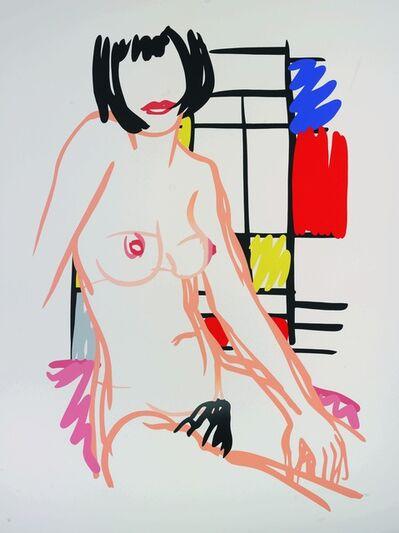 Tom Wesselmann, 'Monica Sitting with Mondrian ', 1989
