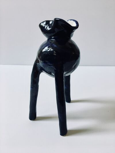 Ak Jansen, 'Small ceramic sculpture; 'Creature Small No. 10'', 2018