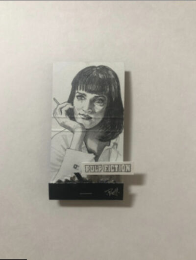 matchbox artists, 'Mia Wallace (Pulp Fiction)', 2020