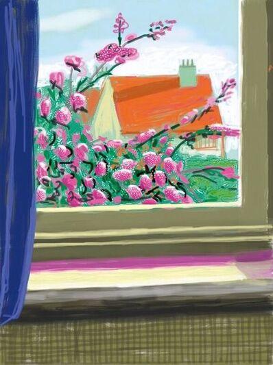 David Hockney, 'iPad Drawing No. 778, 17th April', 2010-2019