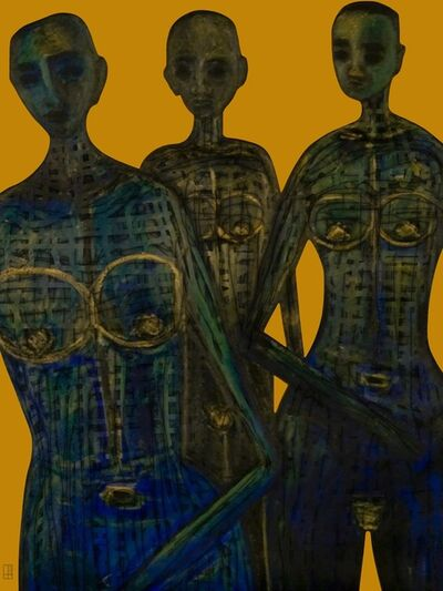 Evelyne Huet, 'The Three Graces', 2015