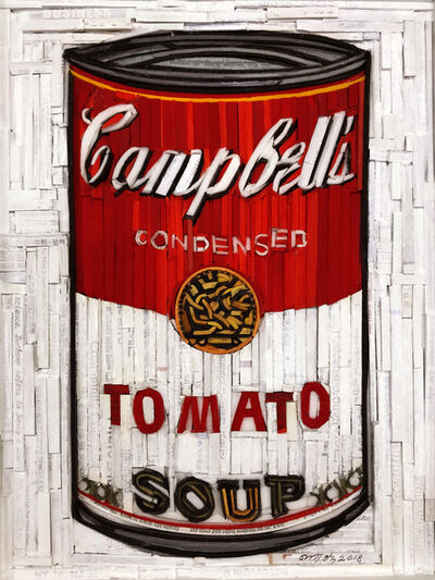 Kyu-Hak Lee, 'Monumnet - Campbell's Soup (Red & White)', 2018