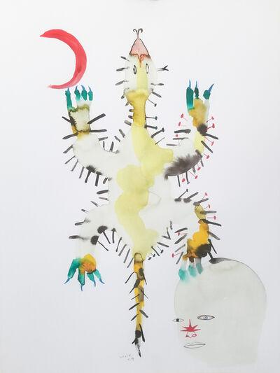Wole Lagunju, 'Power Figure II', ca. 2019