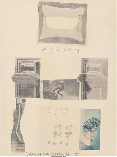 Robert Rauschenberg, 'Two Reasons Why Birds Sing, from Suite of Nine Prints', 1979