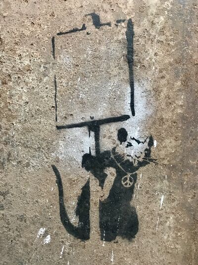 "Banksy, '""Anarchy Rat / Peace Rat""', 2002 / 2003"