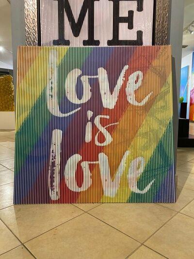 Efraim Mashiah, 'Love is Love', 2020