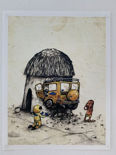"dran, 'DRAN ""ACCIDENT' PARIS EXCLUSIVE PRINT LTD EDT', 2016"
