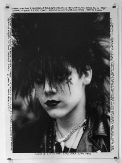 Janette Beckman, 'Siouxie Sioux Fan- New York City, 1998', 1998