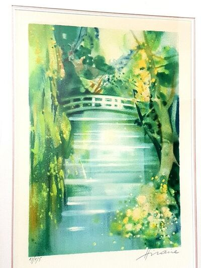 Camille Hilaire, 'Camille Hilaire - Nature - Signed Original Lithograph'
