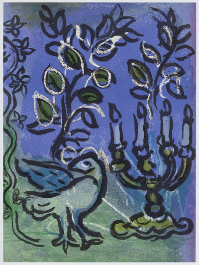 Marc Chagall, 'The Candlestick', 1962
