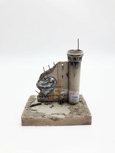 Banksy, 'Walled Off Hotel - Wall Sculpture (Heart)', 2018