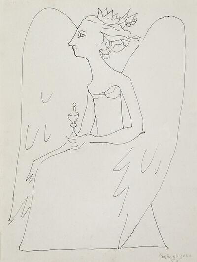 René Portocarrero, 'Angel', 1955