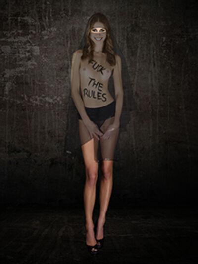 Cecile PLAISANCE, 'FUCK THE RULES (LOIN)', 2018