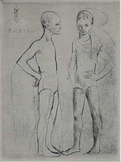 Pablo Picasso, 'Les Deux Saltimbanques', 1905