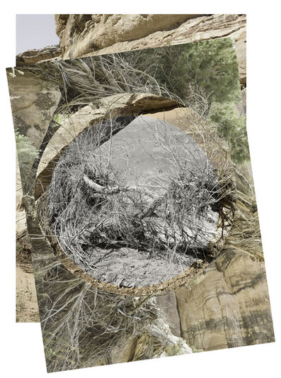 Sharon Harper, 'Some Observations on Movements of the Earth 2014 - Desert Wash Natural Bridges, Utah, No. 1', 2018