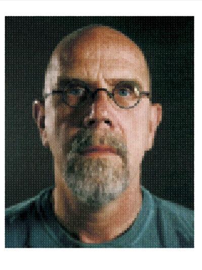 Chuck Close, 'Self-Portrait', 2012