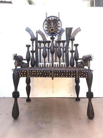Gonçalo Mabunda, 'Untitled (Throne)', 2020-2021