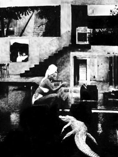Florian Heinke, 'The living room', 2018