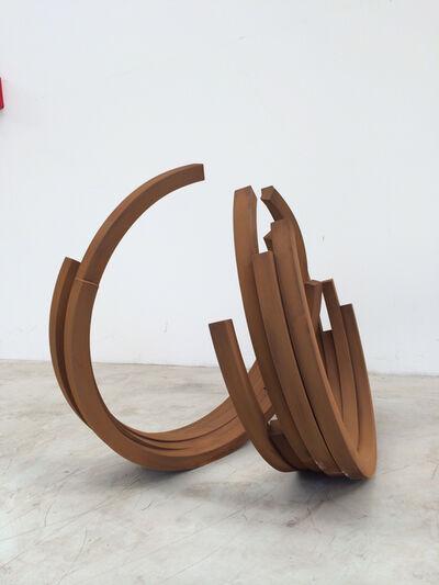 Bernar Venet, '221,5º Arc x 10', 2014