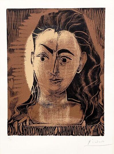 Pablo Picasso, 'Petite Buste de femme (Small Portrait of a Woman)', 1962