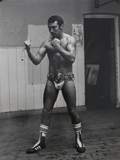 Gerry Cranham, 'Alan Minter (Boxer), Nov 1978'