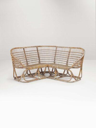 Bonacina, 'A rattan sofa', 1960 ca.