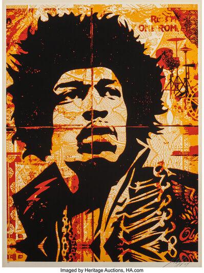 Shepard Fairey, 'Hendrix', 2004